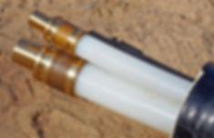 запрессованные гильзы двухтрубной конструкции ТВЭЛ-ПЭКС-2