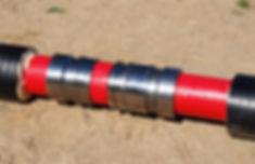Вставить свободный конец фитинга в заранее развальцованный конец присоединяемой трубы и произвести аналогичные действия для нее