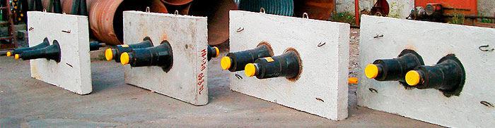 Фасонные детали изолированных ППУ трубопроводов. Неподвижные щитовые опоры