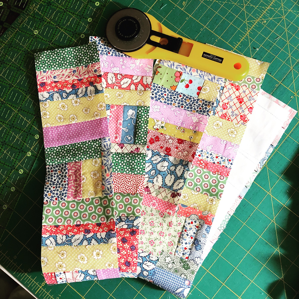 Scrap Strip Quilting Blocks