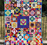 Economy Block Quilt Layout