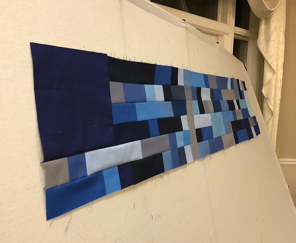 My Husband's Quilt...work in progress