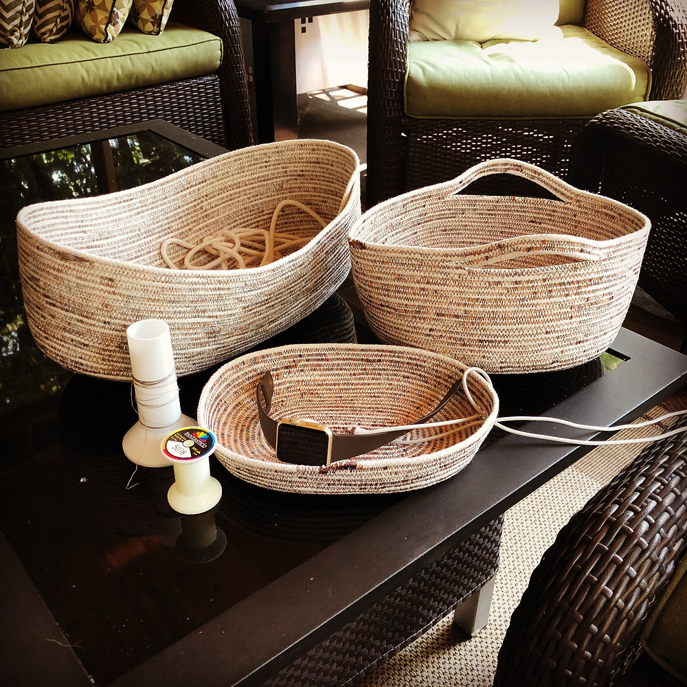 Very easy rope bowls
