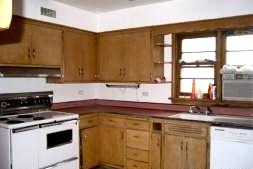 Wilmette Kitchen Before Construction