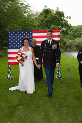 Amanda and Dan on their Wedding day, June 2013