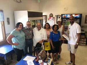 Amanda, PC Michael Jordan, Judge David Garcia and wife Chris, LWTDO Sue Myers, and Judicial candidate Vince Cornelius and wife Zina