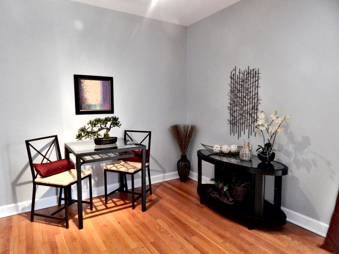 Dining Area Staged