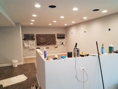 Media Area Mid-Construction