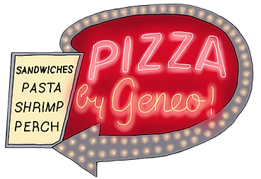 Pizza by Geneo Logo