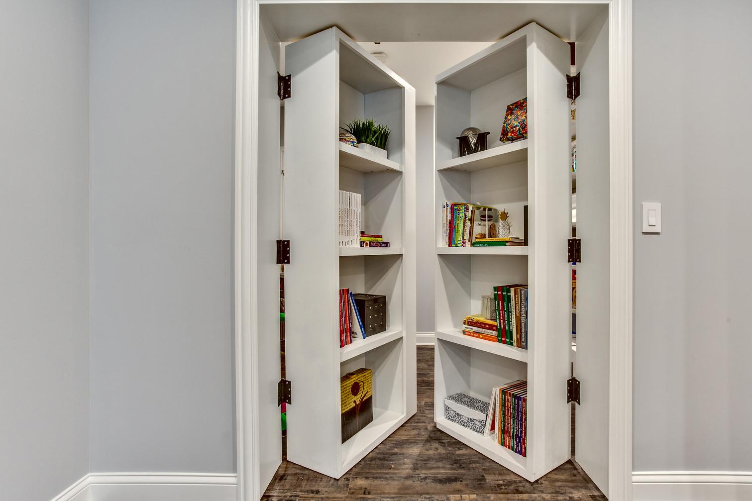 Secret Storage Room After