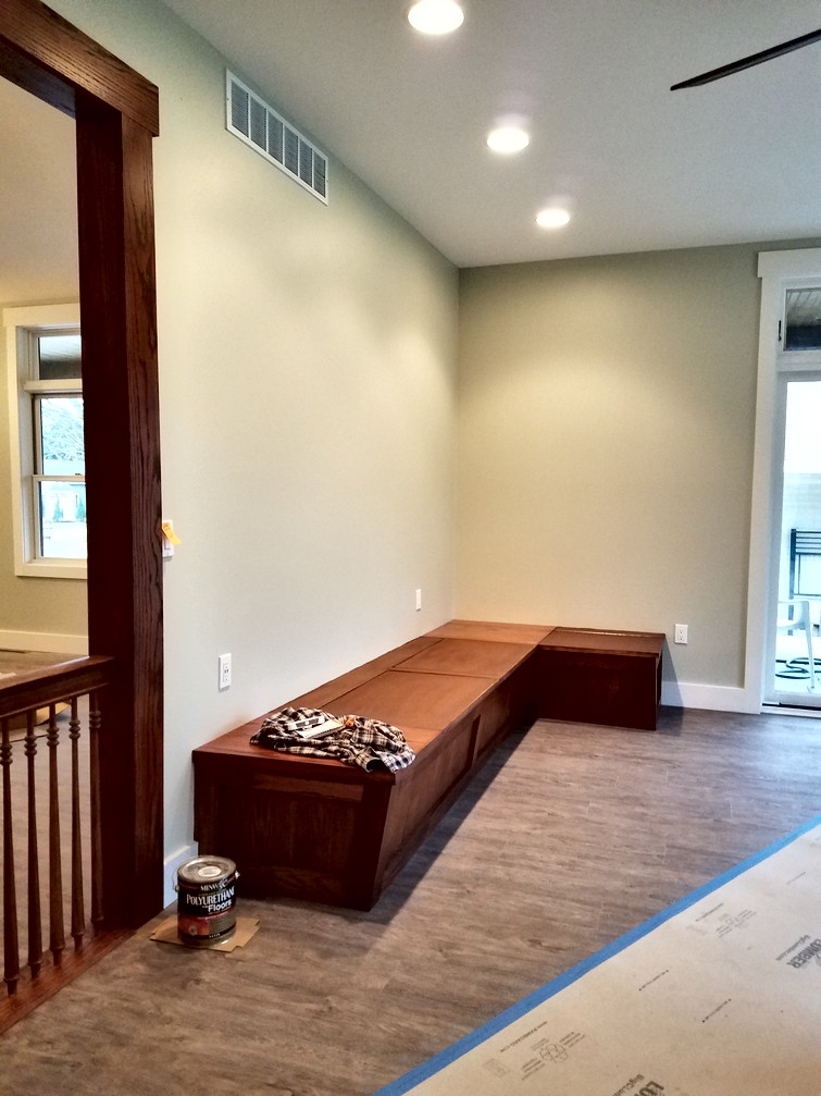 Family Room Seating Construction