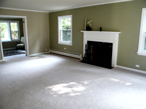 Wilmette Living Room After Construction