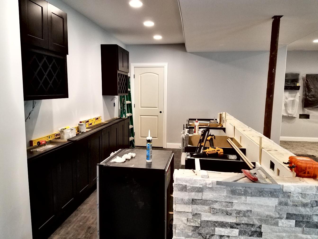 Bar Mid-Construction
