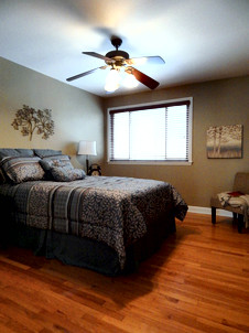Bedroom Staged