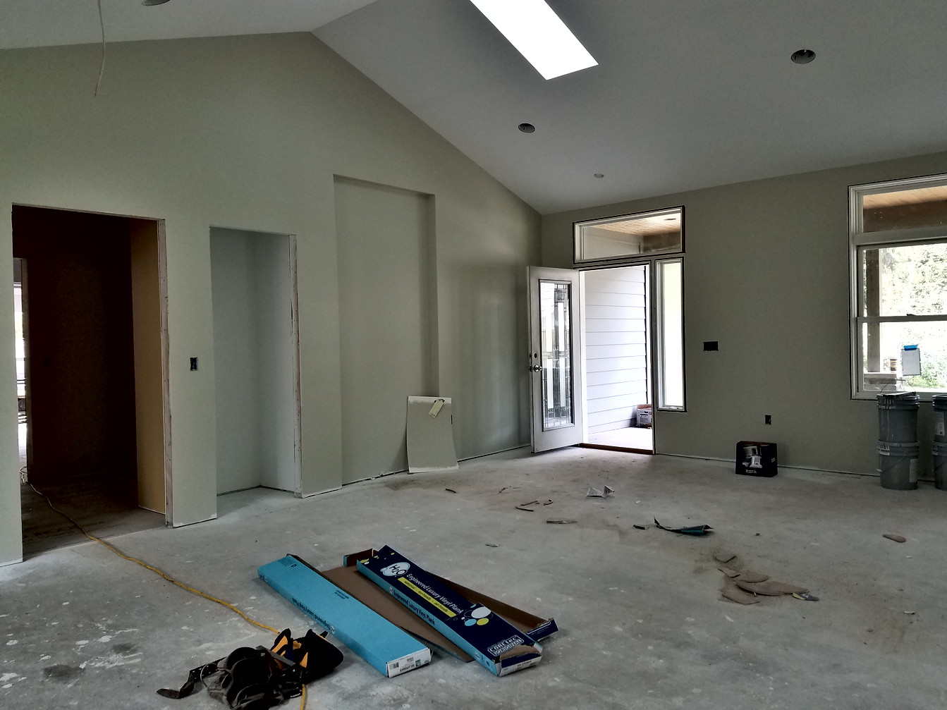 Living Room Construction
