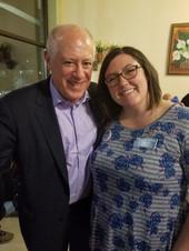 Governor Pat Quinn and Amanda