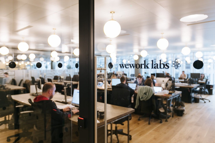 WeWork Labs in London. (WeWork Photo)
