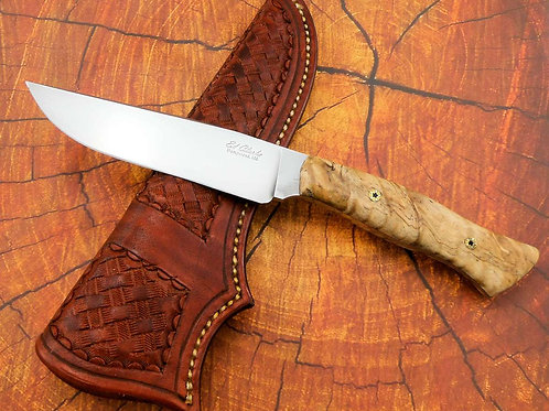 Talon Fighter in Curly Spalted Maple