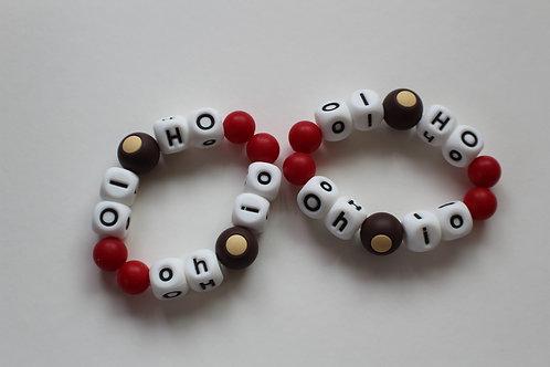 Adult Sized Ohio Bracelets