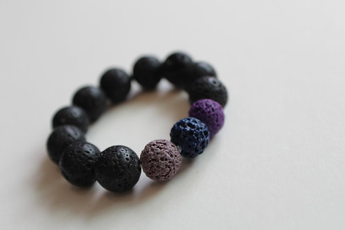 Child (2+) Sized Lava Bead Bracelet