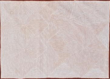 George Tjungurrayi 183cm by 121cm