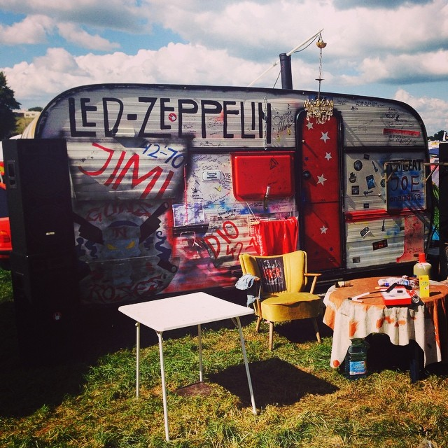 Camping metal style at #wacken2014