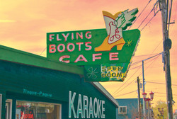 Flying Boots, Tacoma WA