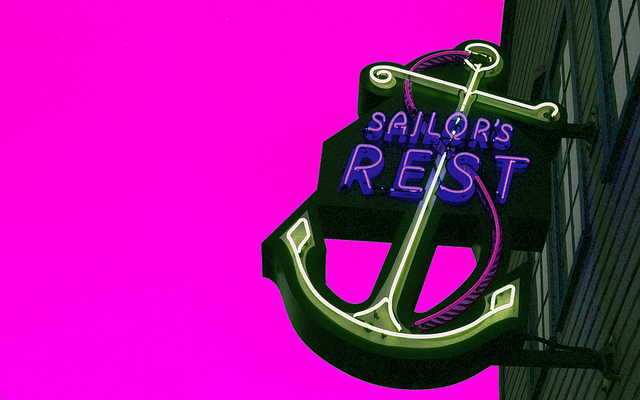Sailor's Rest Sign