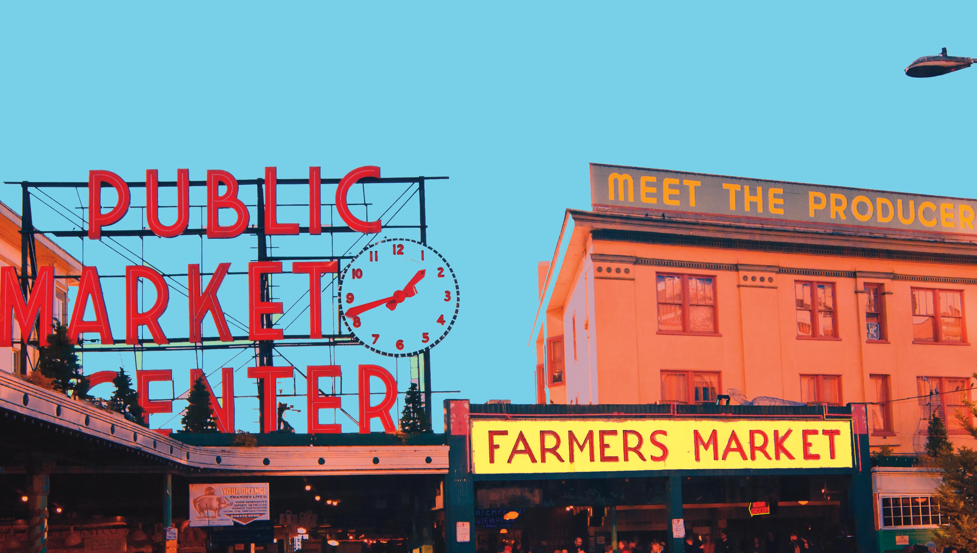 Pike Place Market, Seattle WA