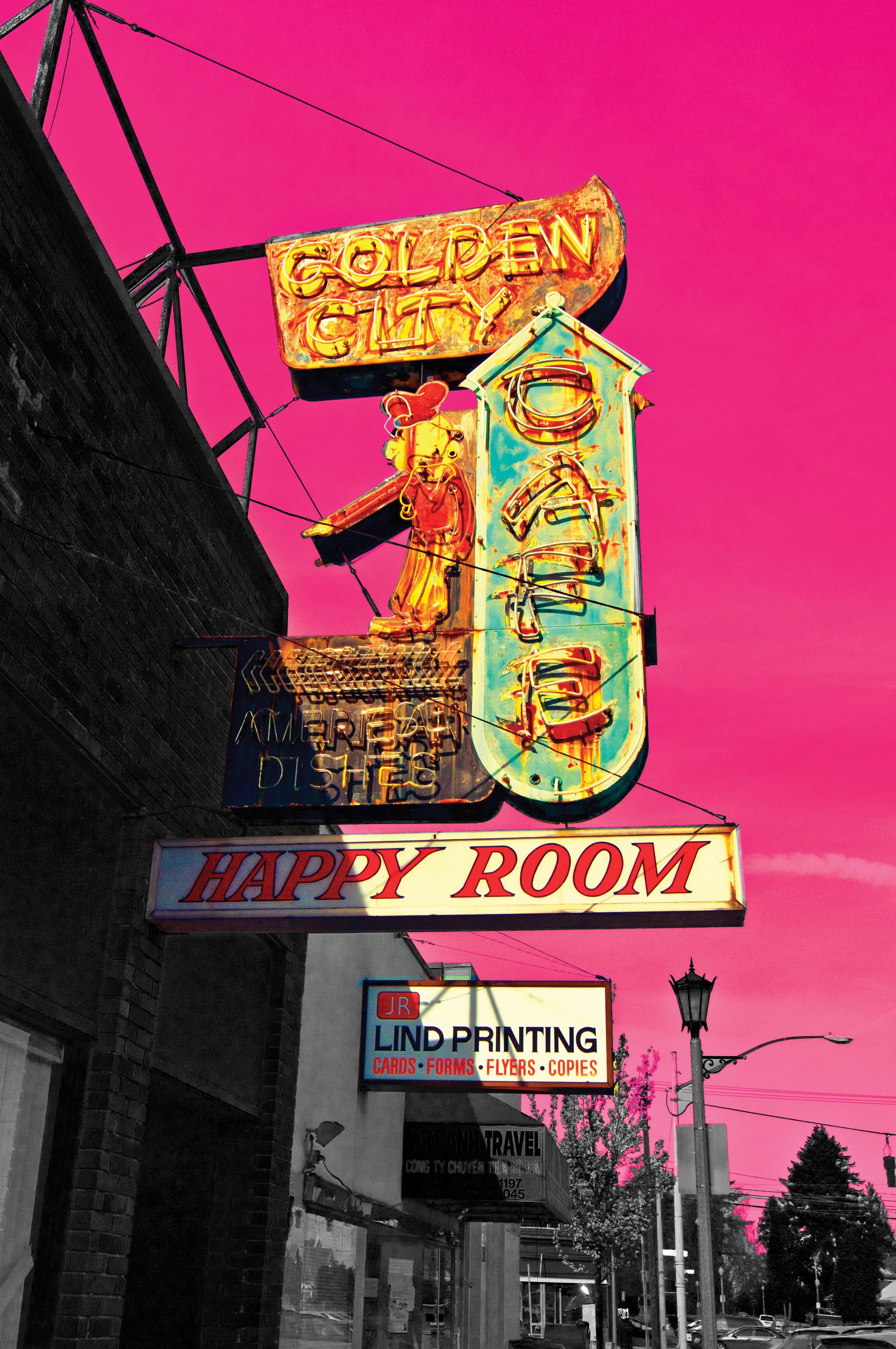 Golden City Pink Tacoma, WA