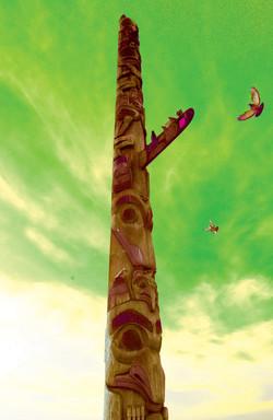 Pike Place Totem Pole, Seattle WA