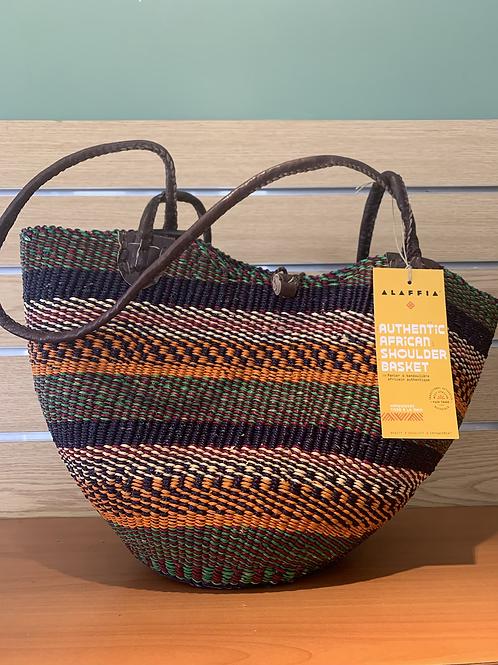 African Shoulder Basket