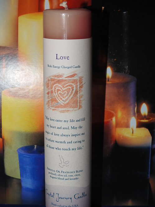 Reiki Charged Intention Candles