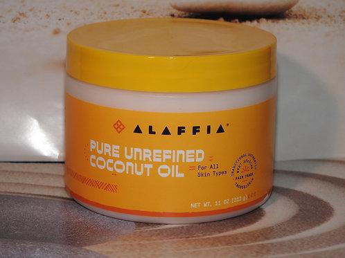 Pure Unrefined Coconut Oil