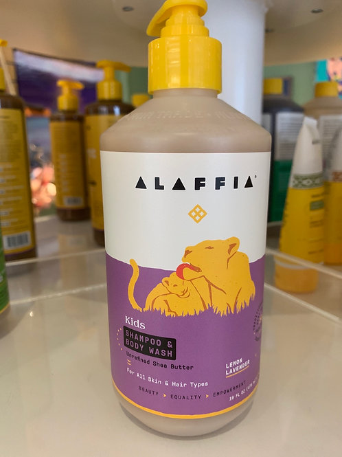 Lemon Lavender Shampoo/Body Wash
