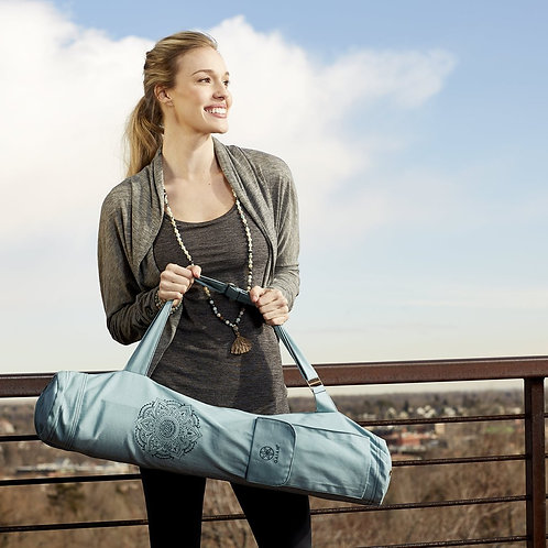 Embroidered Cargo Yoga Bag