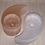 Thumbnail: Pink/White Selenite Yin Yang Candle Holder
