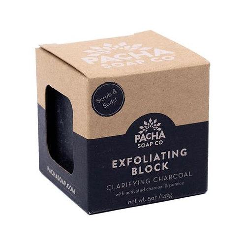 Clarifying Charcoal Exfoliating Block