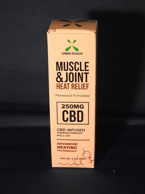 Muscle Joint heat relief (250mg) Roll On