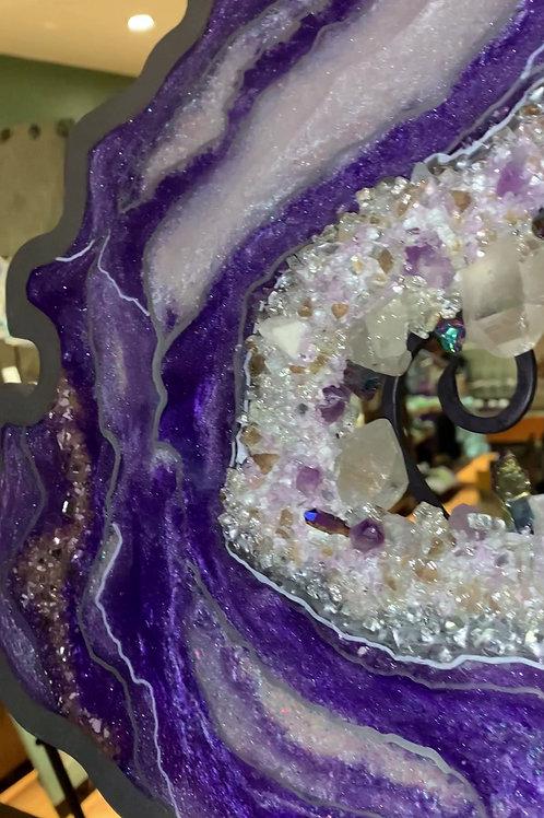 Amethyst Geode Energy Healer