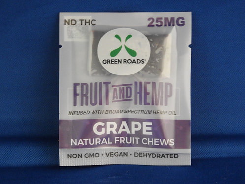 Grape Fruit Chew