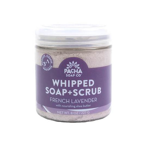 Whipped Soap and Scrub Lavender