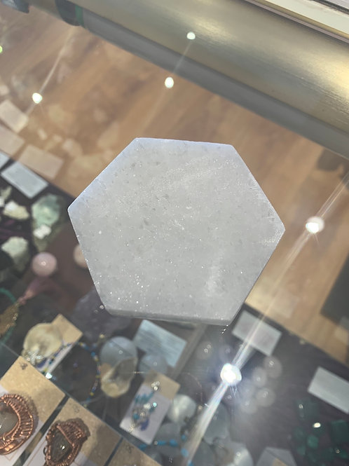Selenite Hexagon Charging station