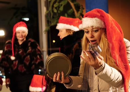 """Panevėžio Kino centro """"Garsas"""" kalėdinis sveikinimas"""
