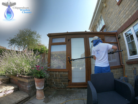 Window cleaning in Chippenham