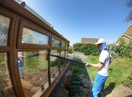 Window cleaning in 36c