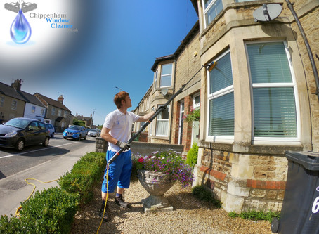 Window cleaning in Park Lane Chippenham