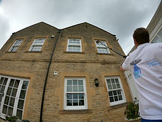 Window cleaning in Kington Langley with