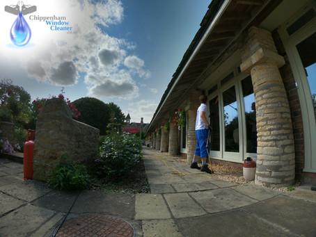 Window cleaning in Yatton Keynell