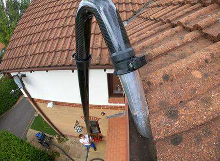 Gutter cleaning in Cepan Park North